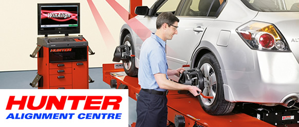 Hunter Wheel Alignment Newton Abbot